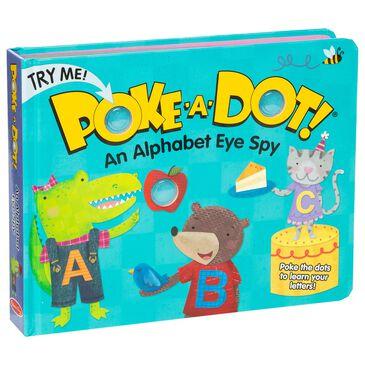 Melissa & Doug Poke-A-Dot: An Alphabet Eye Spy Board Book, , large