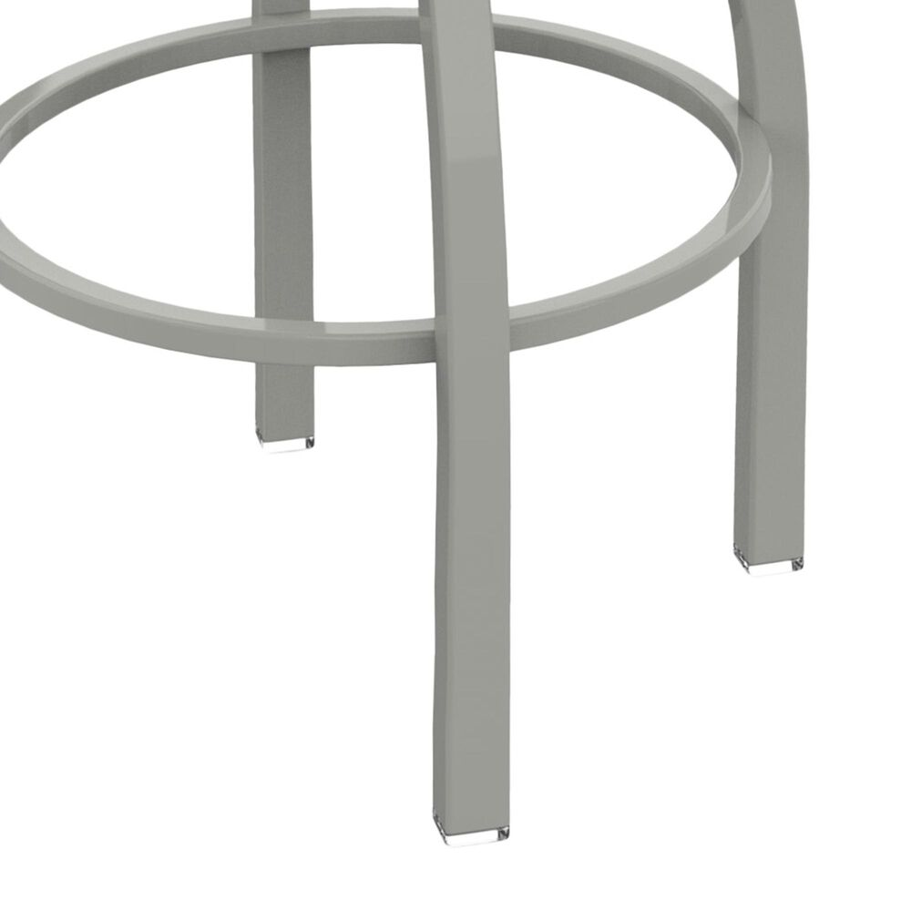 """Holland Bar Stool 410 Jackie 30"""" Swivel Bar Stool with Anodized Nickel and Canter Earth Seat, , large"""