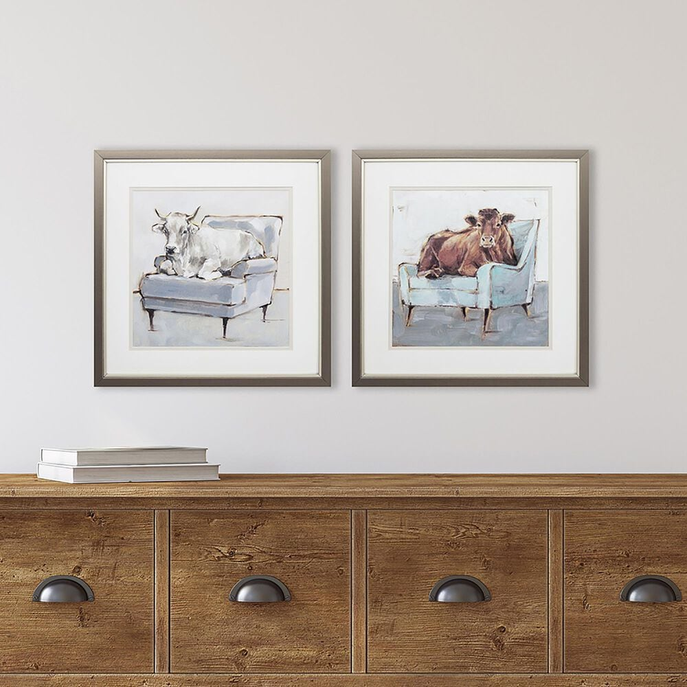 """Propac """"Mooving In"""" Wall Art (Set of 2), , large"""