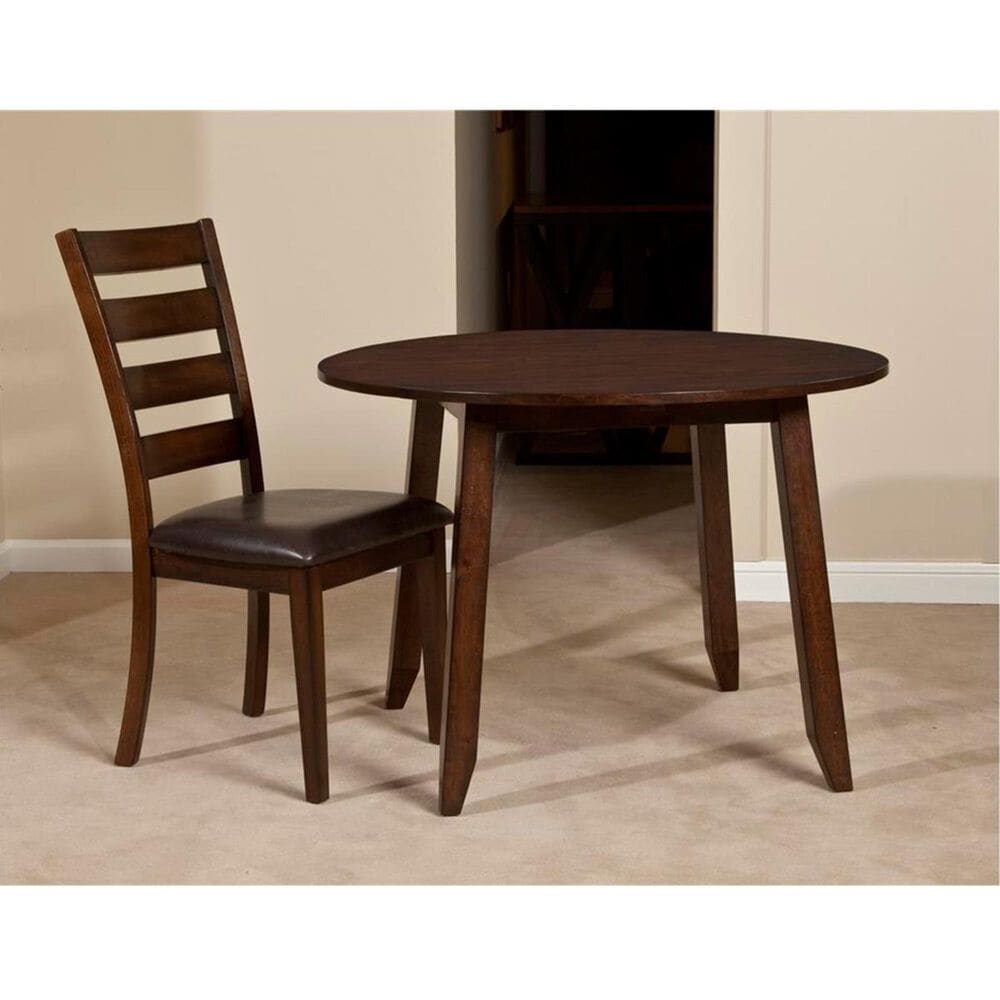 Hawthorne Furniture Kona 3-Piece Dining Set in Raisin, , large