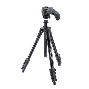Manfrotto Compact Tripod w/ 3 way Head, , large