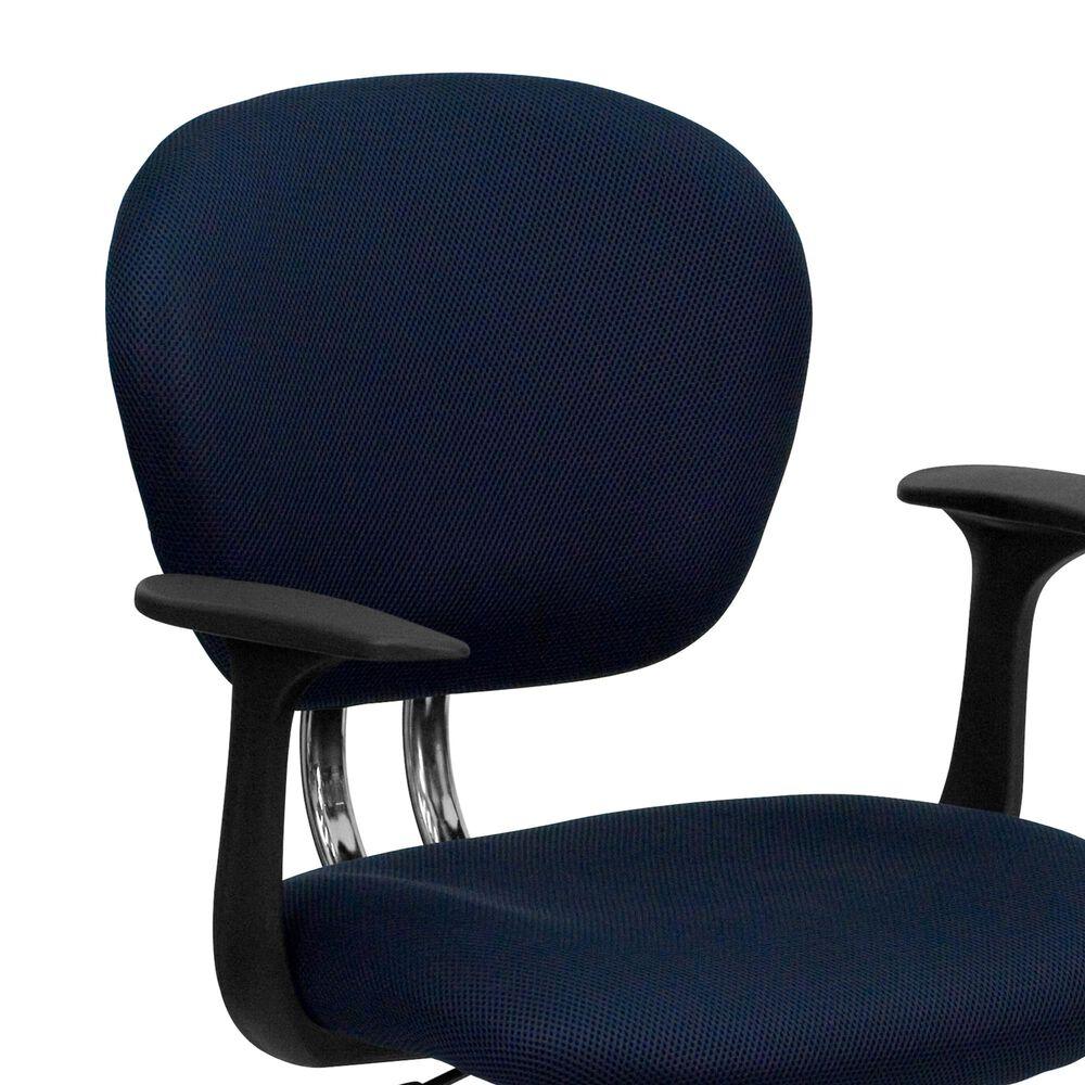 Flash Furniture Swivel Task Chair in Blue, , large