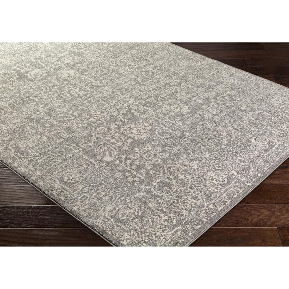 Surya Harput HAP-1029 2' x 3' Charcoal, Light Gray and Beige Scatter Rug, , large