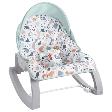 Fisher-Price Deluxe Infant-to-Toddler Rocker in Blue Pacific Pebble, , large