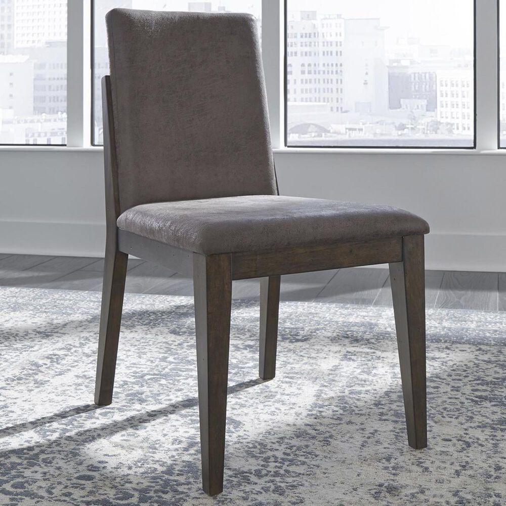 Belle Furnishings Ventura Boulevard Upholstered Side Chair in Bronze Spice, , large