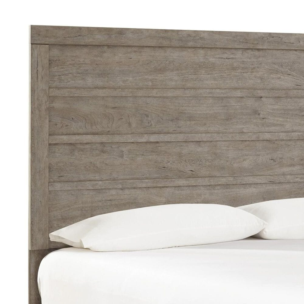 Signature Design by Ashley Culverbach Full Panel Bed in Driftwood Gray, , large
