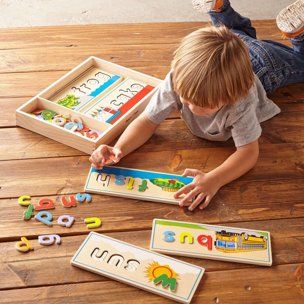 Melissa & Doug See and Spell Learning Toy, , large