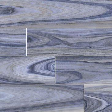 "MS International Dellano Exotic Blue 8"" x 48"" Porcelain Tile, , large"