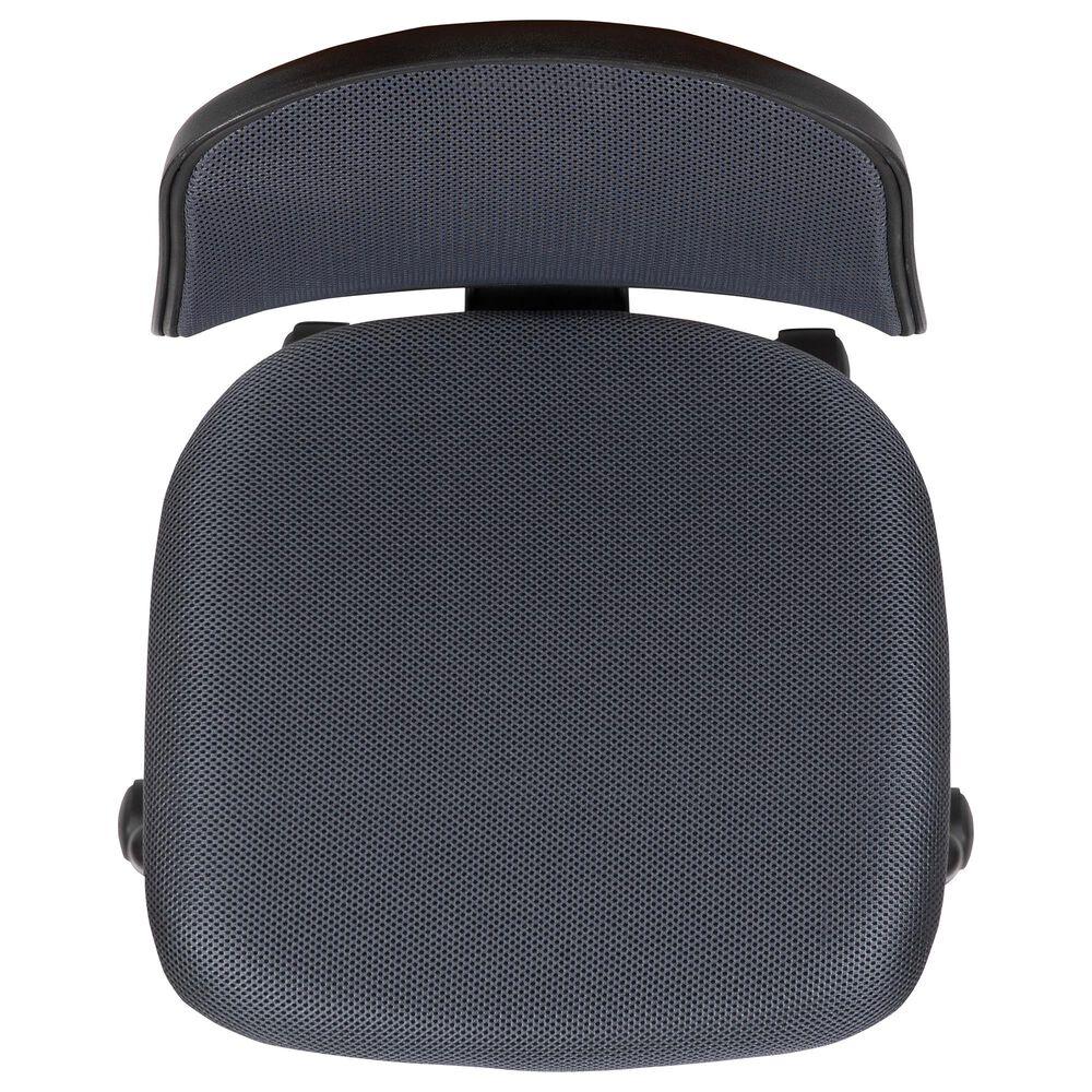 Flash Furniture Flash Fundamentals Swivel Task Chair in Gray, , large