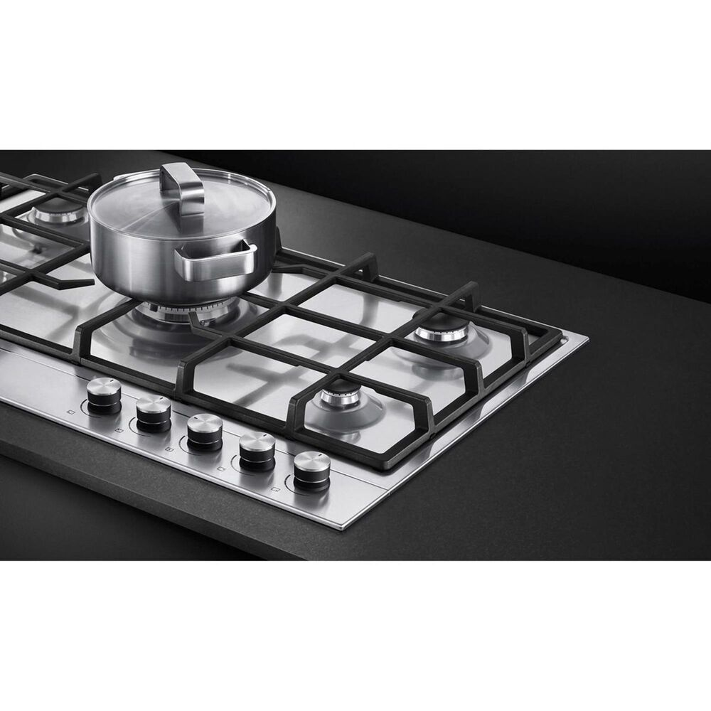 "Fisher and Paykel 30"" Liquid Propane Gas Cooktop with 5-Burner in Stainless Steel, , large"