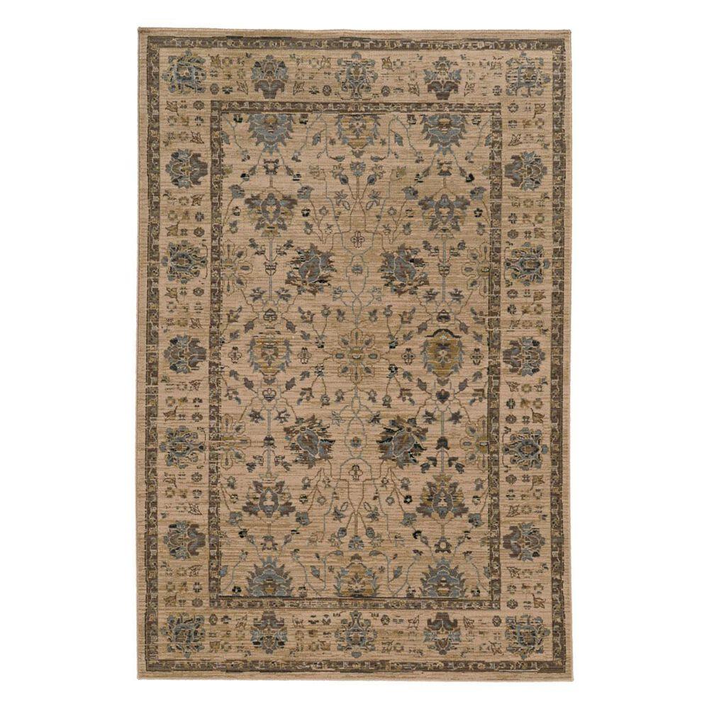 "Oriental Weavers TB Vintage 534W 7'10"" x 10'10"" Beige Area Rug, , large"