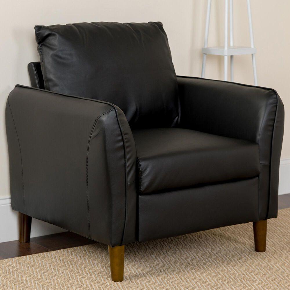 Flash Furniture Milton Park Arm Chair in Black, , large