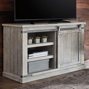 "Signature Design by Ashley Carynhurst 50"" TV Stand in Whitewash, , large"