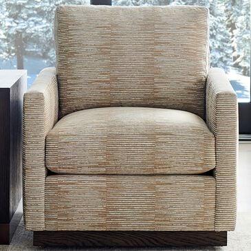 Lexington Furniture Meadow View Swivel Chair in Grey Print, , large