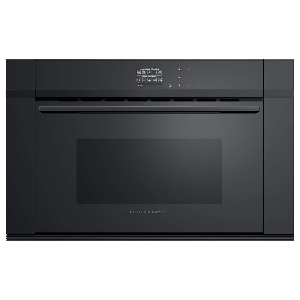 """Fisher and Paykel 30"""" Companion Trim Kit for 24"""" Cooking in Black, , large"""