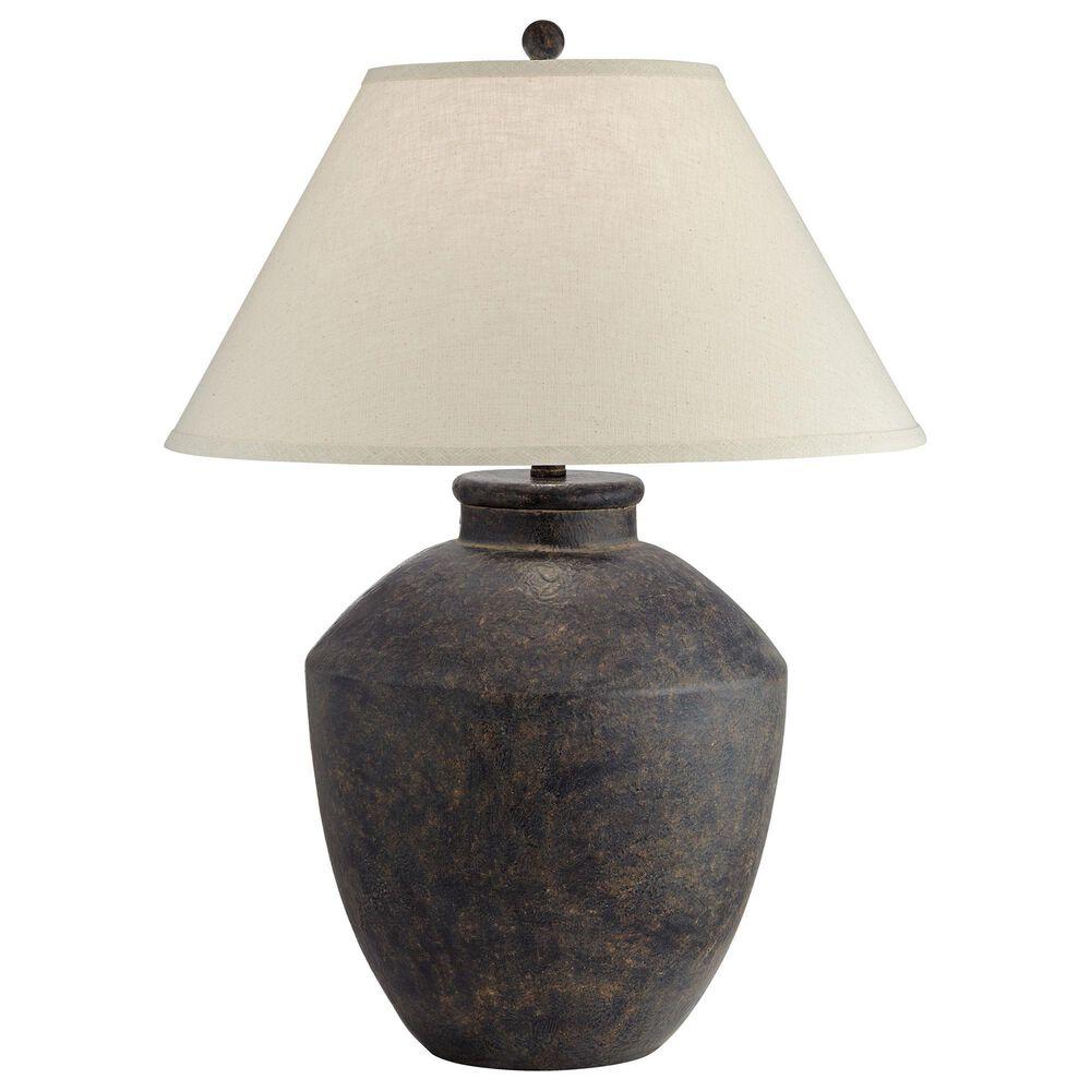 Pacific Coast Lighting Massa Table Lamp in Black Terracota, , large