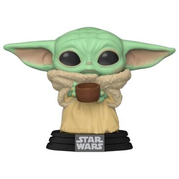 Funko POP! The Mandalorian - The Child with Cup, , large