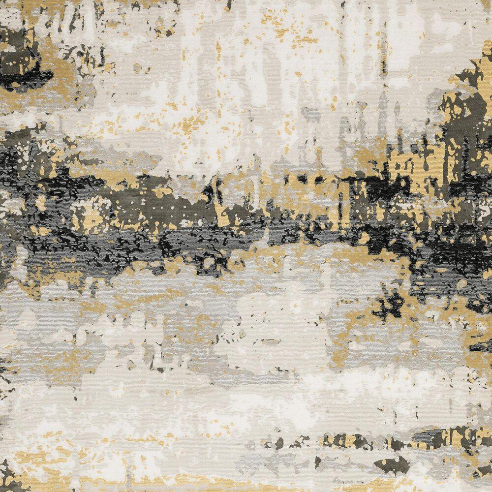 "Oriental Weavers Caravan Fading Mink 2061X 7'10"" x 10'10"" Beige and Gold Area Rug, , large"