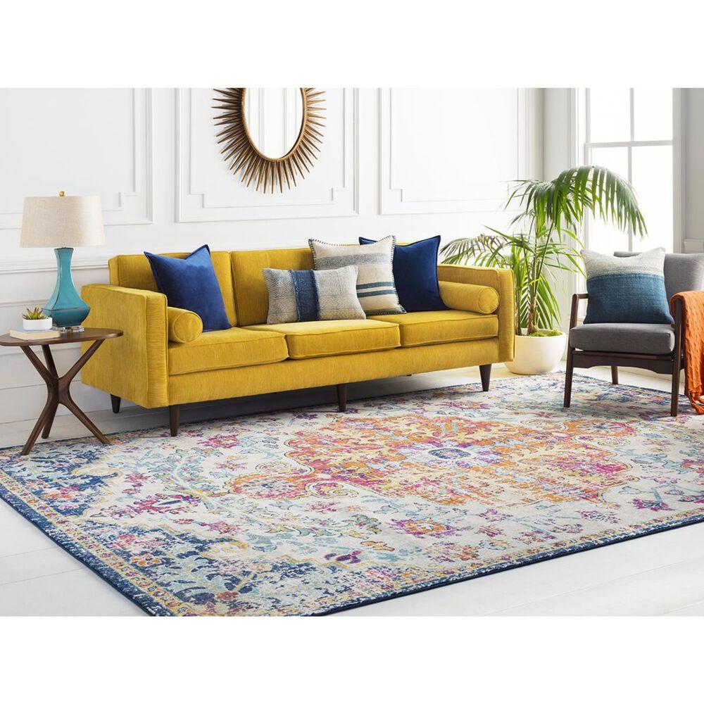 Surya Harput HAP-1000 3' x 5' Saffron and Gray Area Rug, , large