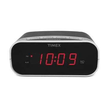 iHome Timex Alarm Clock with 0.7 Red Display, , large