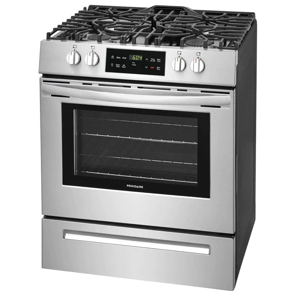 """Frigidaire 30"""" Freestanding Gas Range in Stainless Steel, , large"""