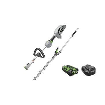 """EGO Power+ 20"""" Hedge Trimmer and Power Head, , large"""
