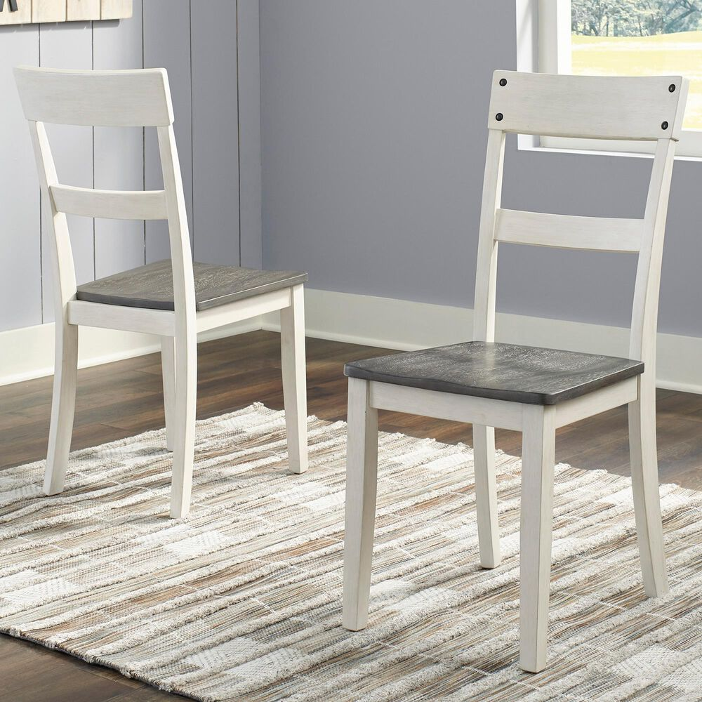 Signature Design by Ashley Nelling Side Chair in Natural Wood (Set of 2), , large