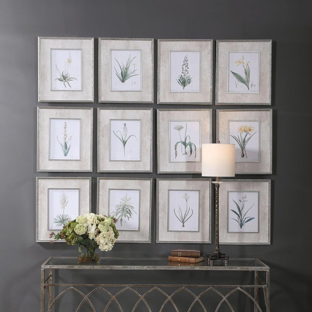 Uttermost Spring Florals Framed Prints (Set of 12), , large