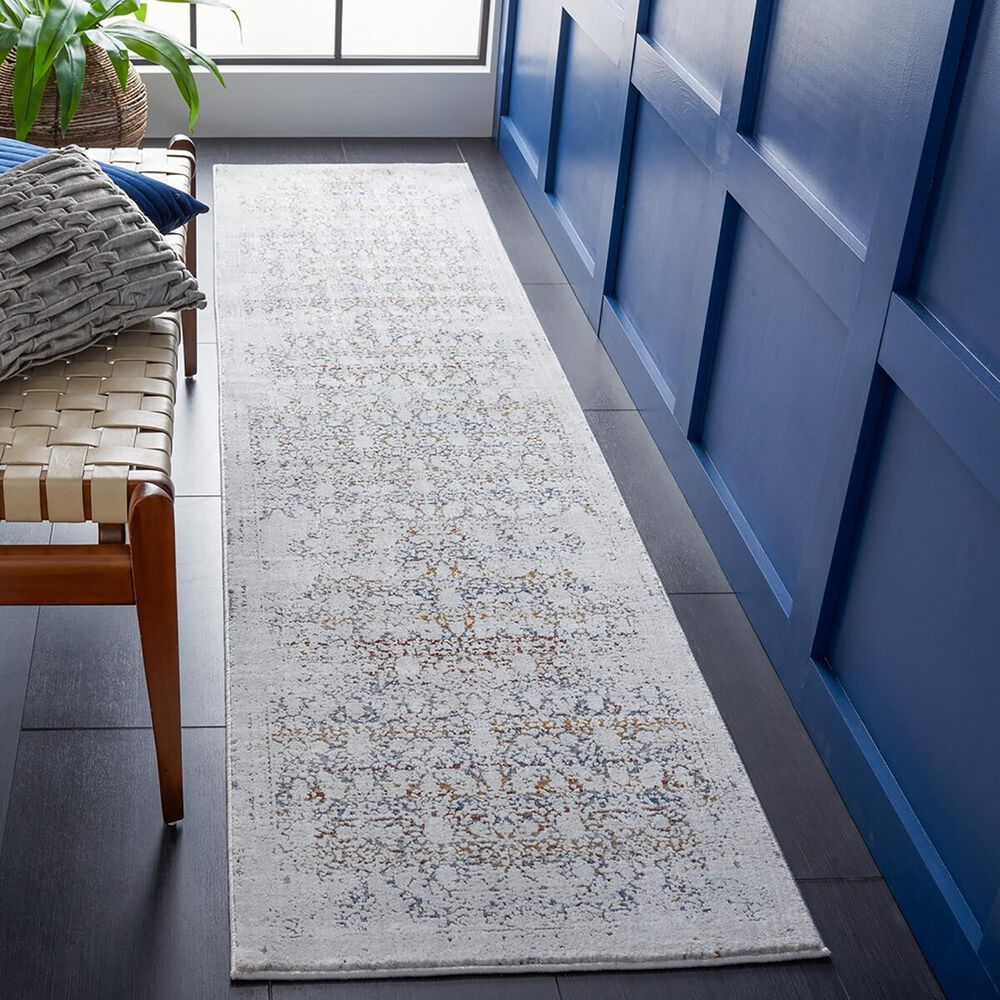 """Safavieh Craft CFT939F 2'2"""" x 9' Grey and Gold Runner, , large"""