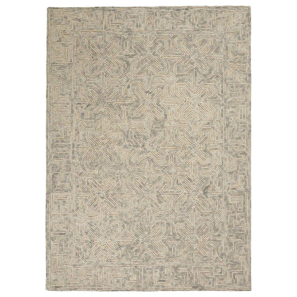 "Nourison Colorado 7'9"" x 9'9"" Beige and Grey Area Rug, , large"