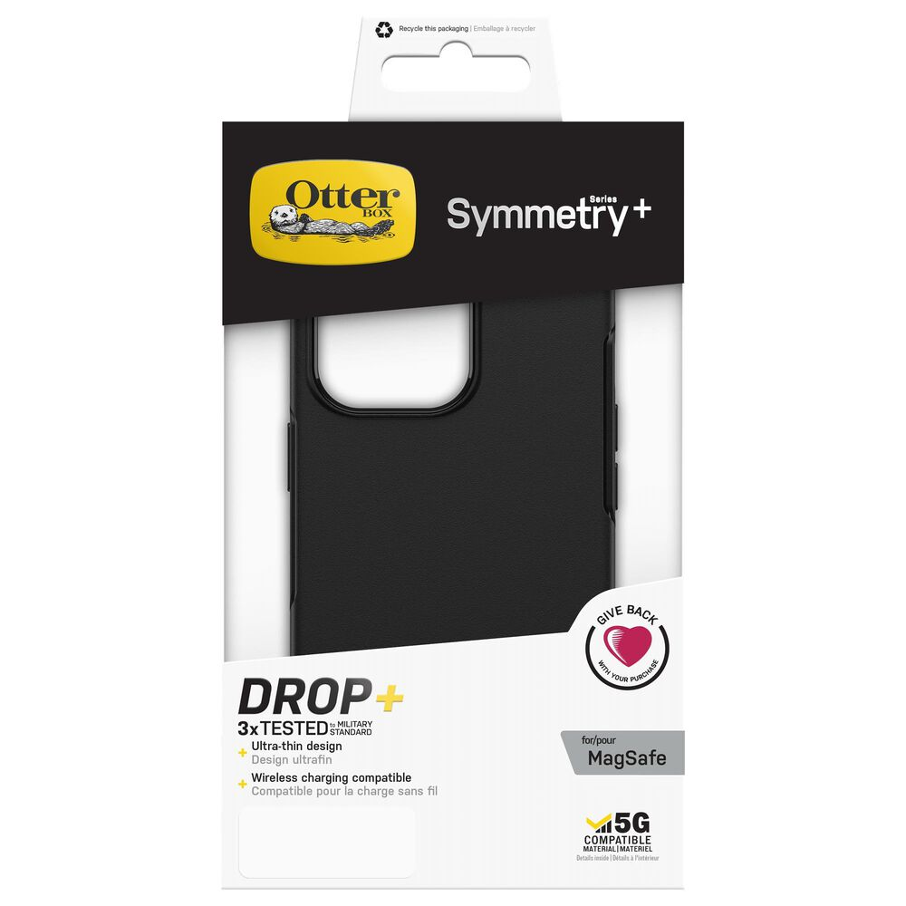 Otterbox Symmetry Plus MagSafe Case for Apple iPhone 13 Pro in Black, , large