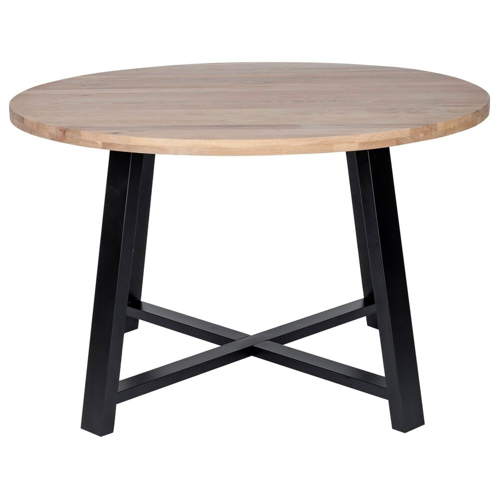 Moe's Home Collection Mila Round Dining Table in Natural, , large