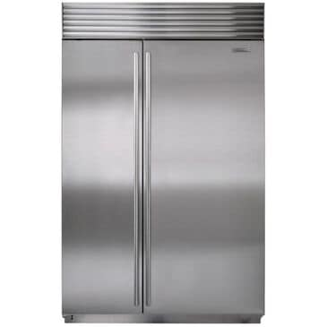 Sub Zero 28.2 Cu. Ft. Built-In Side-by-Side Refrigerator w/ Internal Water and Ice Dispenser, , large
