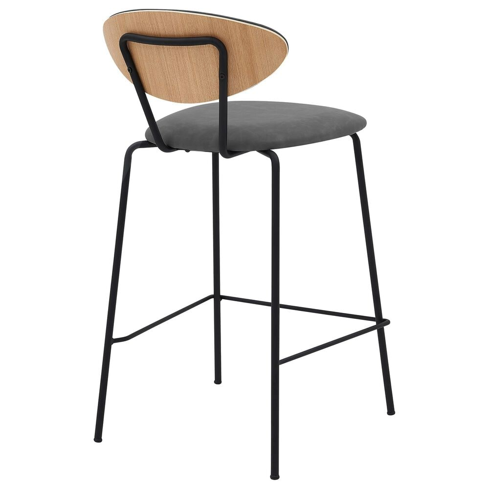"""Blue River Neo 26"""" Counter Stool in Grey, , large"""