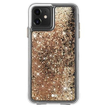 Case-Mate Waterfall Case for iPhone 11 in Gold, , large
