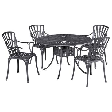 Home Styles Grenada 5-Piece Dining Set in Gray, , large