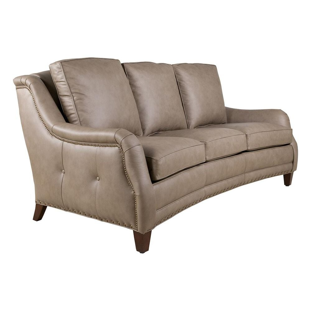 Hancock and Moore Redford Leather Sofa in Juno Taupe, , large