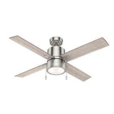 """Hunter 52"""" Indoor Ceiling Fan in Silver, , large"""