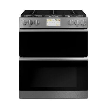 """Cafe 30"""" Smart Slide-In, Front-Control, Dual-Fuel, Double-Oven Range with Convection, , large"""