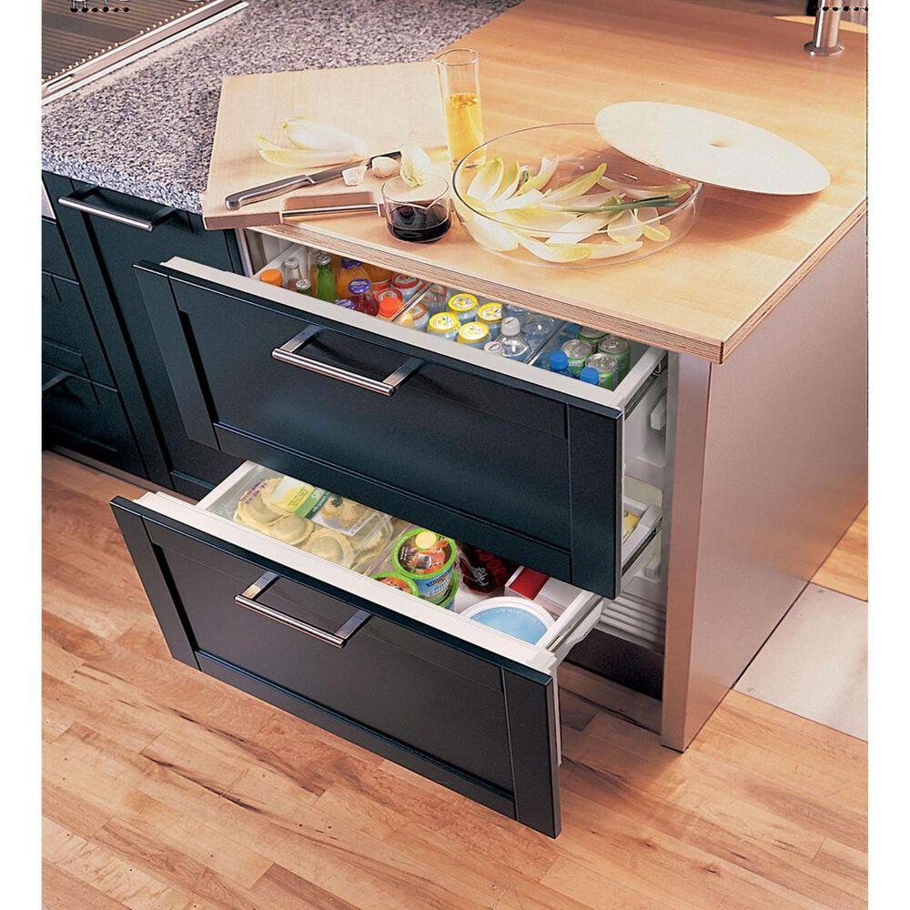 "Sub Zero 36"" Designer Refrigerator/Freezer Drawer with Combo Drawer, , large"