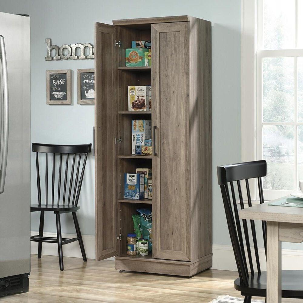 Sauder Homeplus Storage Cabinet in Salt Oak, , large