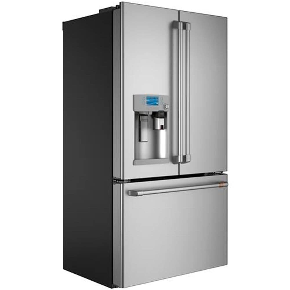 Cafe 22.2 Cu. Ft. French Door Refrigerator with Keurig K-Cup Brewing System in Stainless Steel with Brushed Stainless Handles, , large