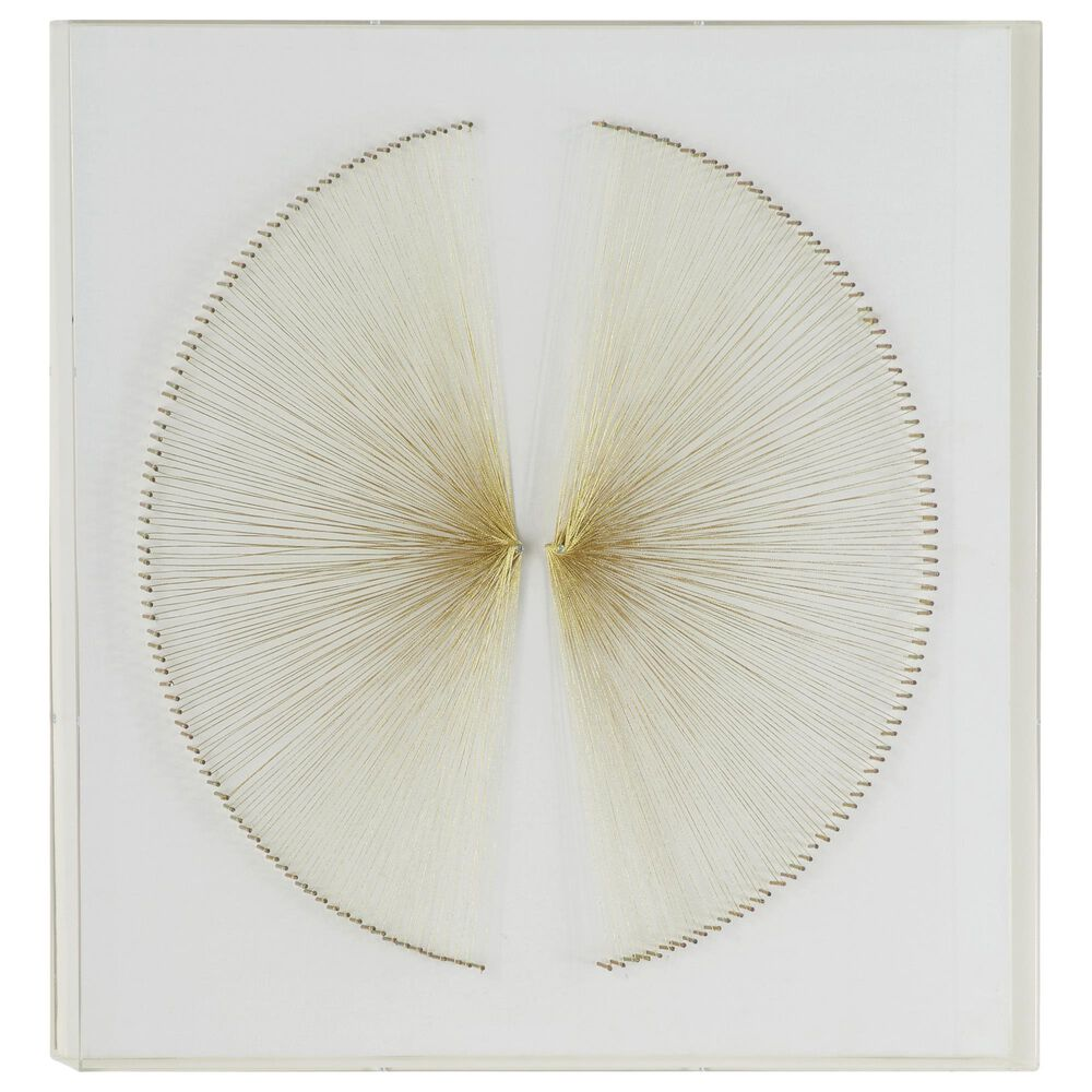 Venus Williams Collection Contemporary Acrylic Wall Art in White, , large