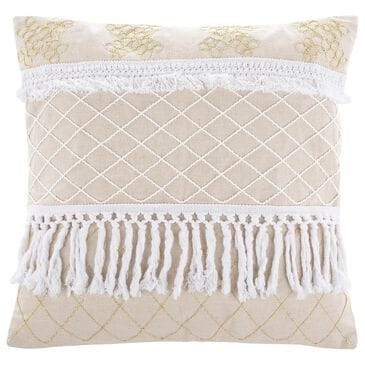 "Safavieh Gurti 18"" Pillow in White, , large"