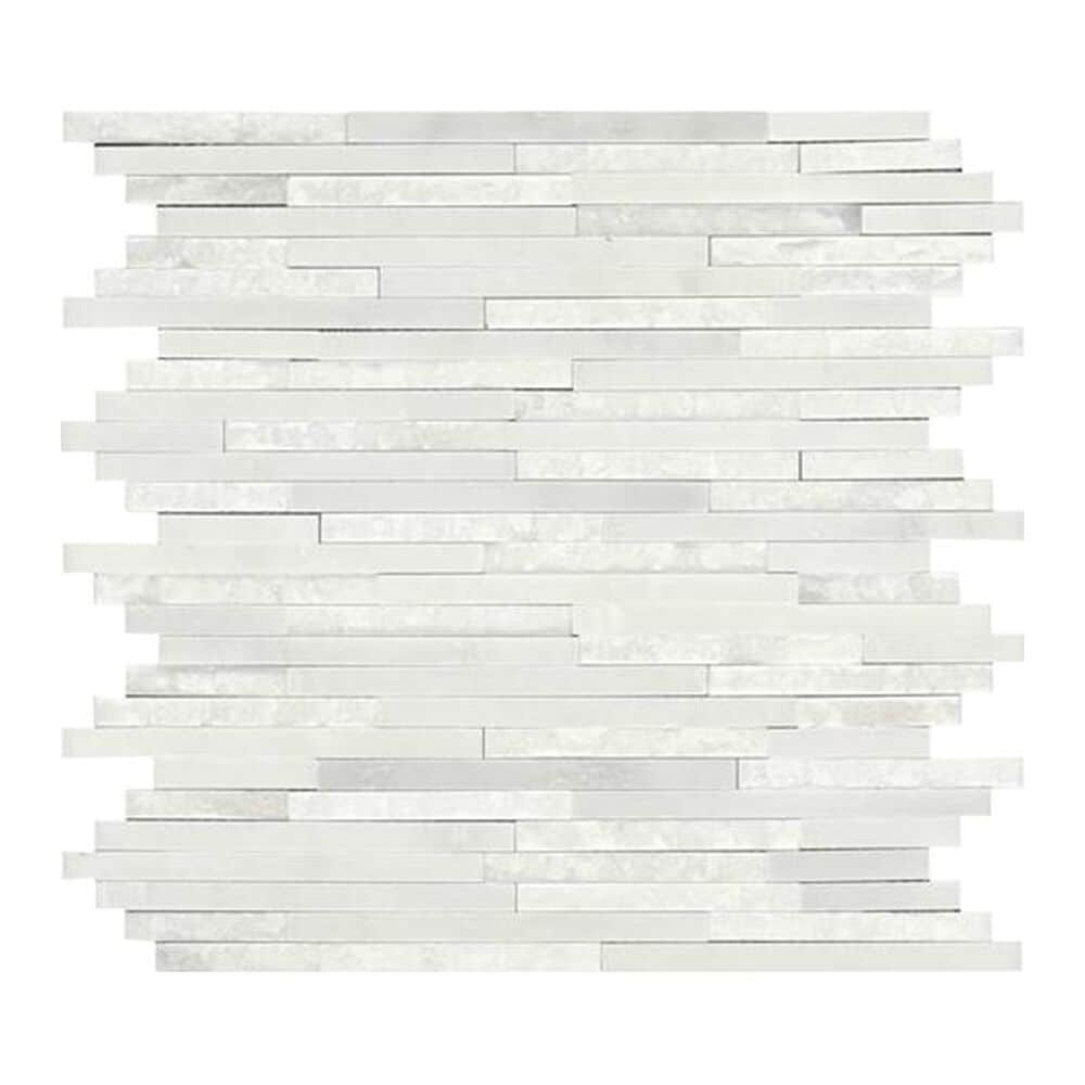 Dal-Tile Marble Mosaic Tile in First Snow Elegance, , large