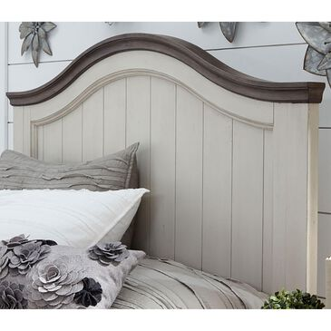 Legacy Classic Brookhaven Youth Twin Panel Headboard in Vintage Linen and Rustic Dark Elm, , large