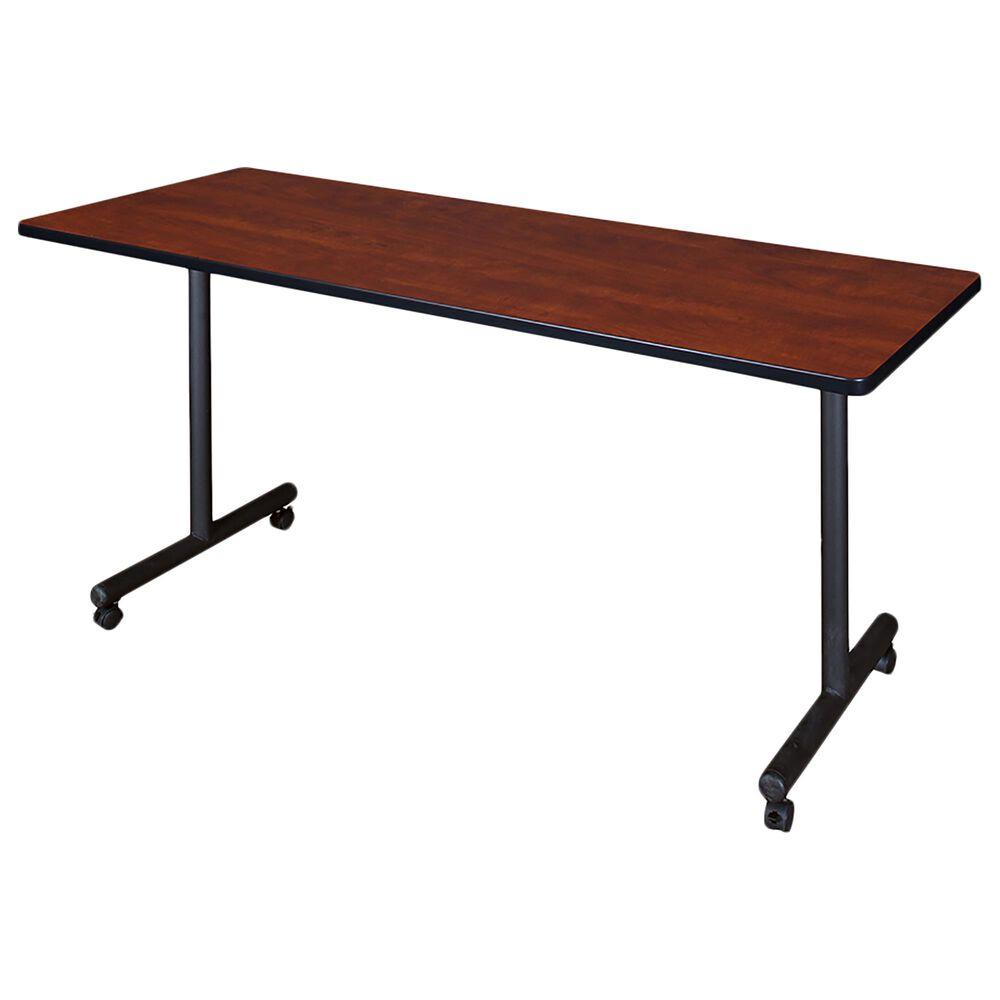 Regency Global Sourcing Kobe 3-Piece Training Table Set in Cherry/Black, , large