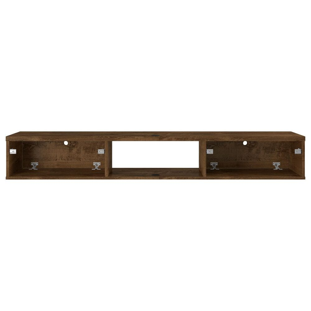 """Manhattan Liberty 62.99"""" Entertainment Center in Rustic Brown, , large"""
