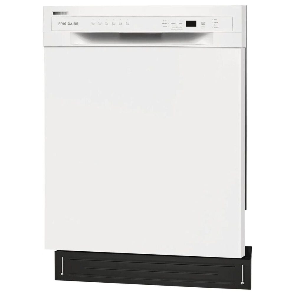 """Frigidaire 24"""" Built-In Dishwasher with Heated Drying System in White, , large"""