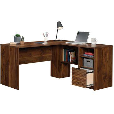Sauder Harvey Park L-Desk in Grand Walnut, , large